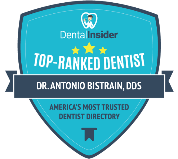 Dr. Antonio Bistrain, DDS is a top-rated dentist on dentalinsider.com