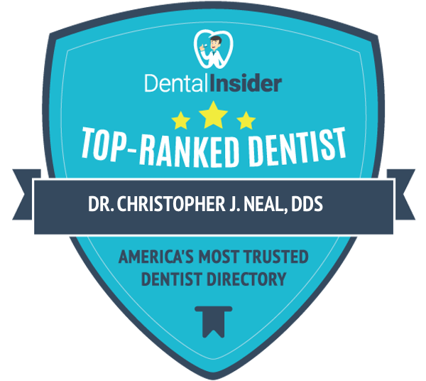 Dr. Christopher J. Neal, DDS is a top-rated dentist on dentalinsider.com