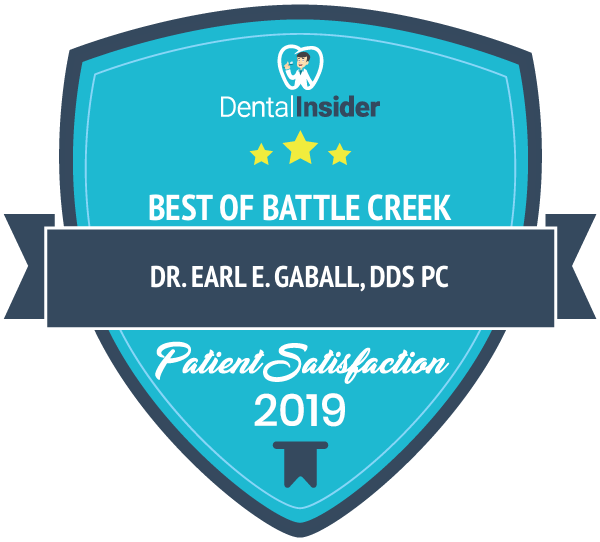 Dr. Earl E. Gaball, DDS PC is a top-rated dentist on dentalinsider.com