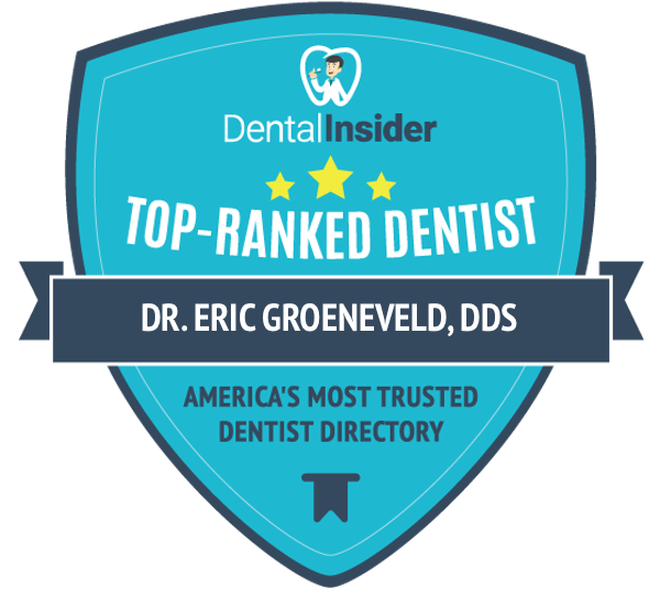 Dr. Eric Groeneveld, DDS is a top-rated dentist on dentalinsider.com