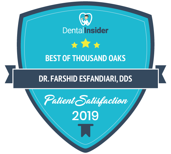 Dr. Frank Esfandiari, DDS is a top-rated dentist on dentalinsider.com