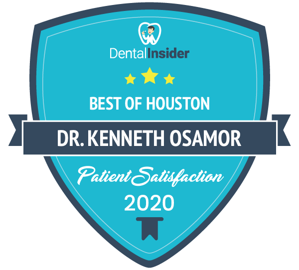 Dr. Kenneth Osamor is a top-rated dentist on dentalinsider.com