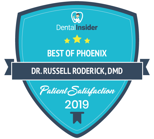 Dr. Russell Roderick, DMD is a top-rated dentist on dentalinsider.com