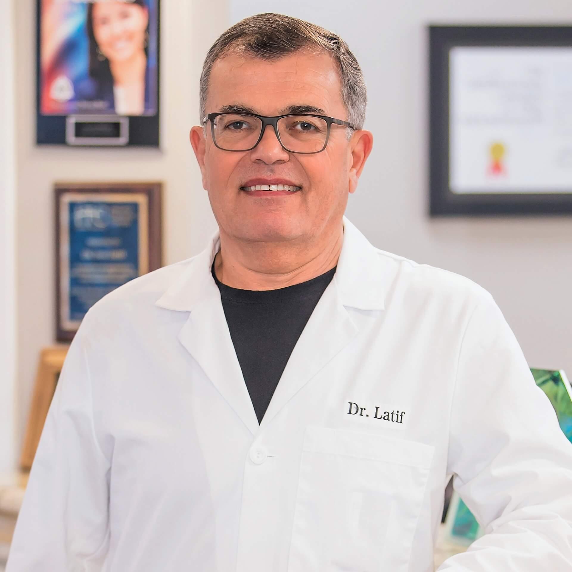 Dr. Sam Latif, DMD, FICOI,DICOI