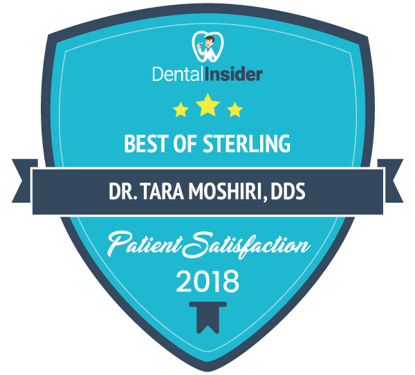 Dr. Tara Moshiri, DDS is a top-rated  dentist on dentalinsider.com